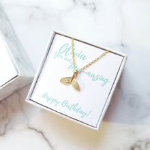 Personalised Birthday Gift Box - Mermaid Tail Necklace, Necklaces - Thoughts Accessories