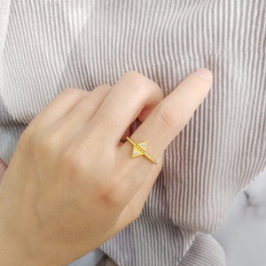 Rhombus Ring, Rings - Thoughts Accessories