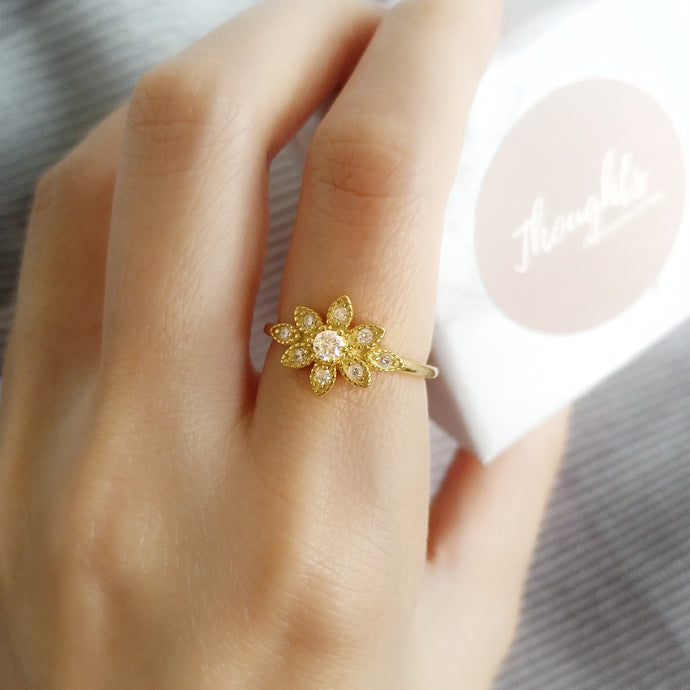 Floret Ring, Rings - Thoughts Accessories