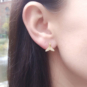 Mermaid Tail Earrings, Earrings - Thoughts Accessories