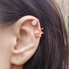 Rose Gold Butterfly Ear Cuff (1pc) - Thoughts Accessories