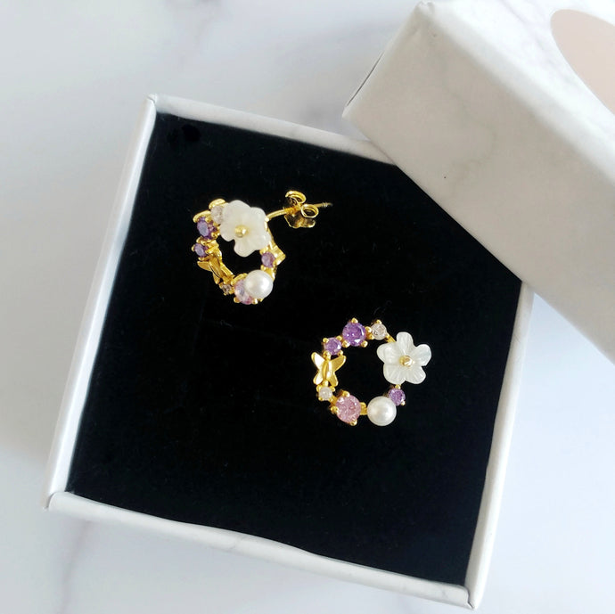 Felicity Earrings, Earrings - Thoughts Accessories
