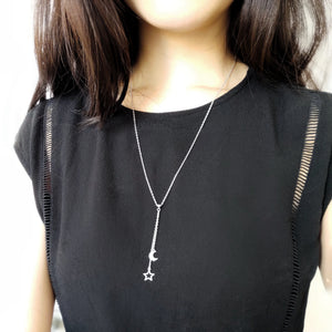 Celeste Long Necklace, Necklaces - Thoughts Accessories