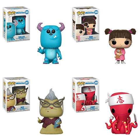 Pop! Disney: Monsters Inc - BUNDLE