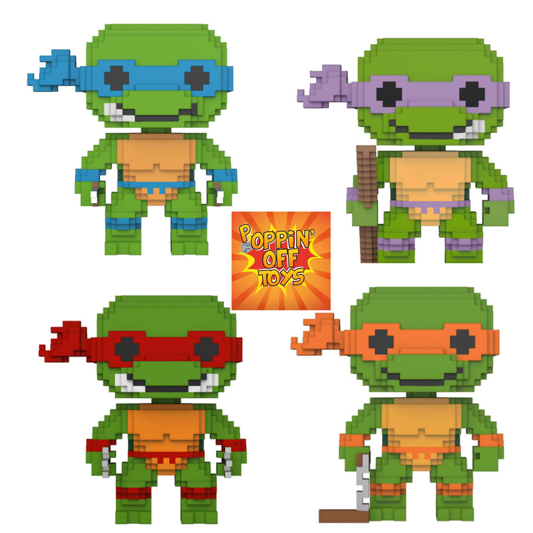 Pop! 8 Bit - TMNT BUNDLE!