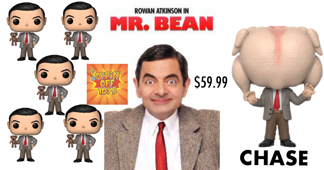 Pop! Television: Mr. Bean - Set of 6 w/Chase