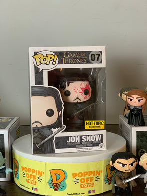 Pop! Game of Thrones - Jon Snow (Bloody)