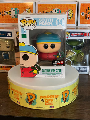 Pop! South Park - Cartman with Clyde