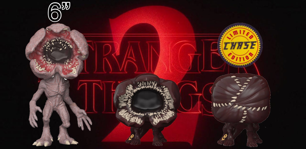 Pop! Television: Stranger Things - Demogorgan BUNDLE