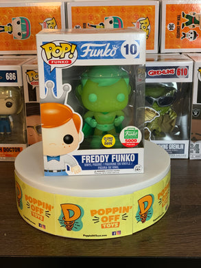Pop! Funko: Freddy Funko Green Gamma Superhero (8/10)