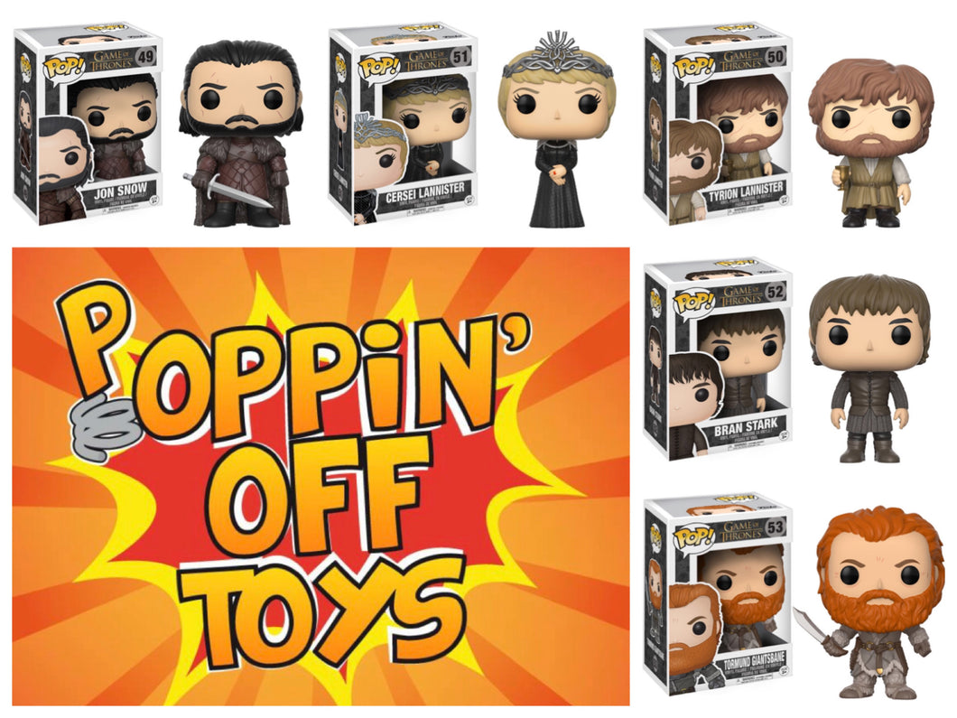 Pop! Game of Thrones - BUNDLE (No Wun Wun)