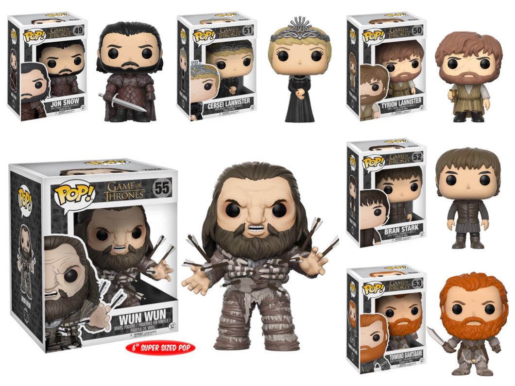Pop! Game of Thrones - BUNDLE w/Wun Wun