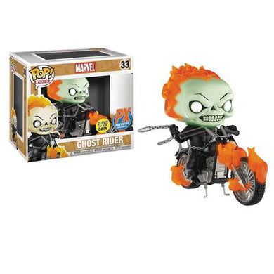 Pop! Rides: Ghost Rider on Motorcycle (GITD)