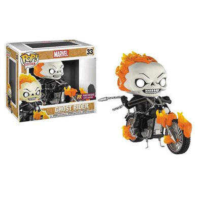 Pop! Rides: Ghost Rider on Motorcycle