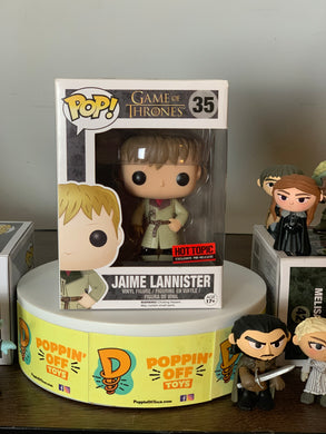 Pop! Game of Thrones - Jaime Lannister (Gold Hand) (7.5/10)