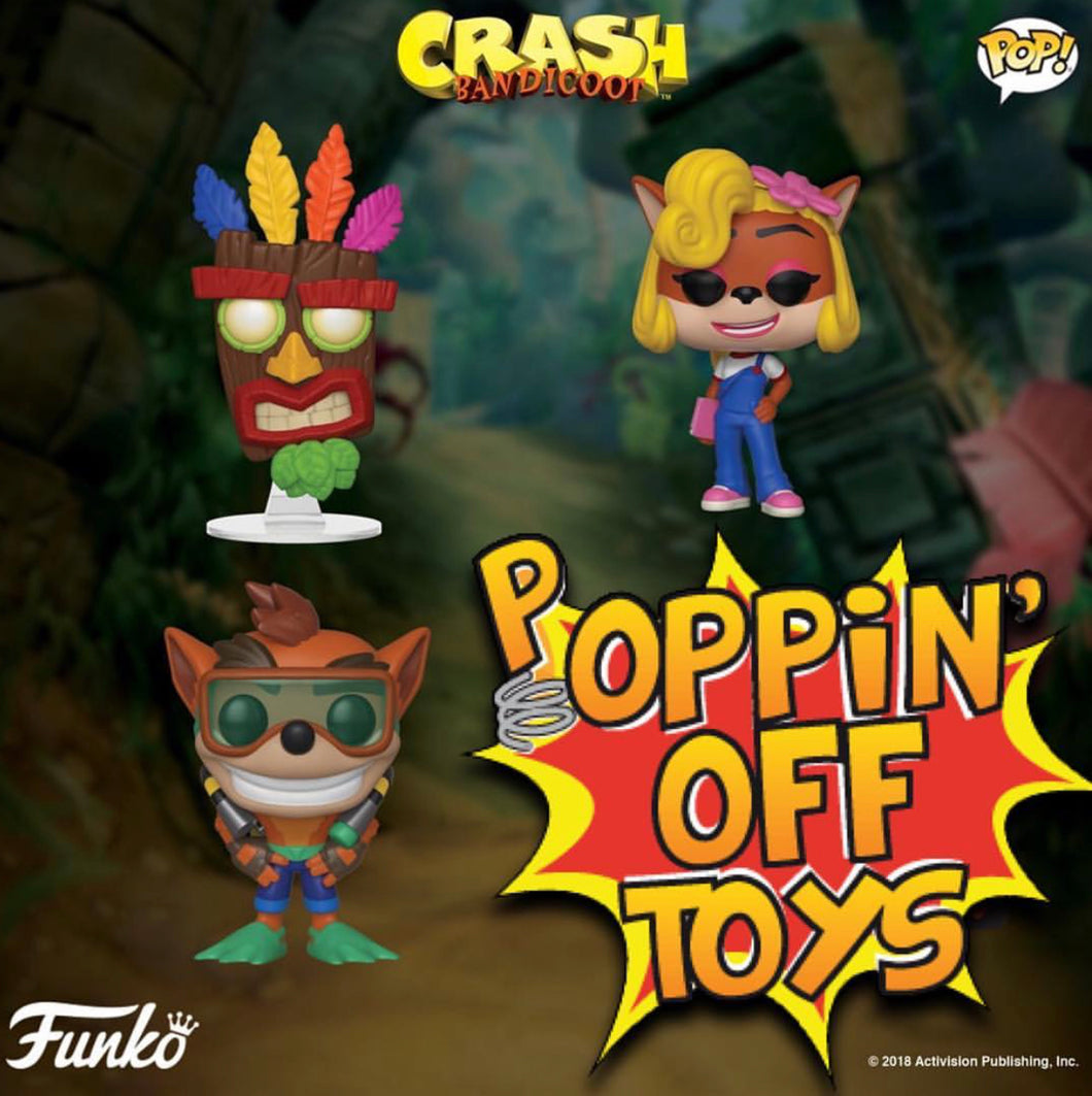 Pop! Games: Crash Bandicoot - Bundle