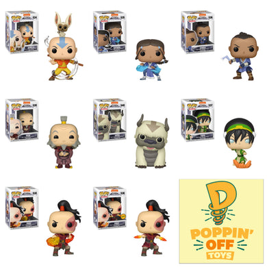 Pop! Animation: Avatar - The Last Airbender - Bundle