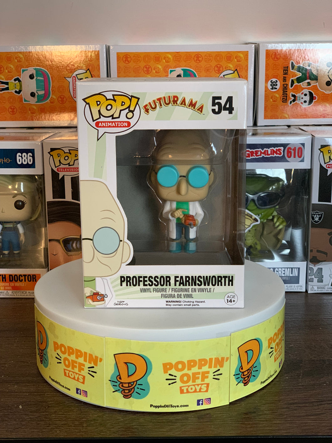 Pop! Animation: Futurama - Professor Farnsworth
