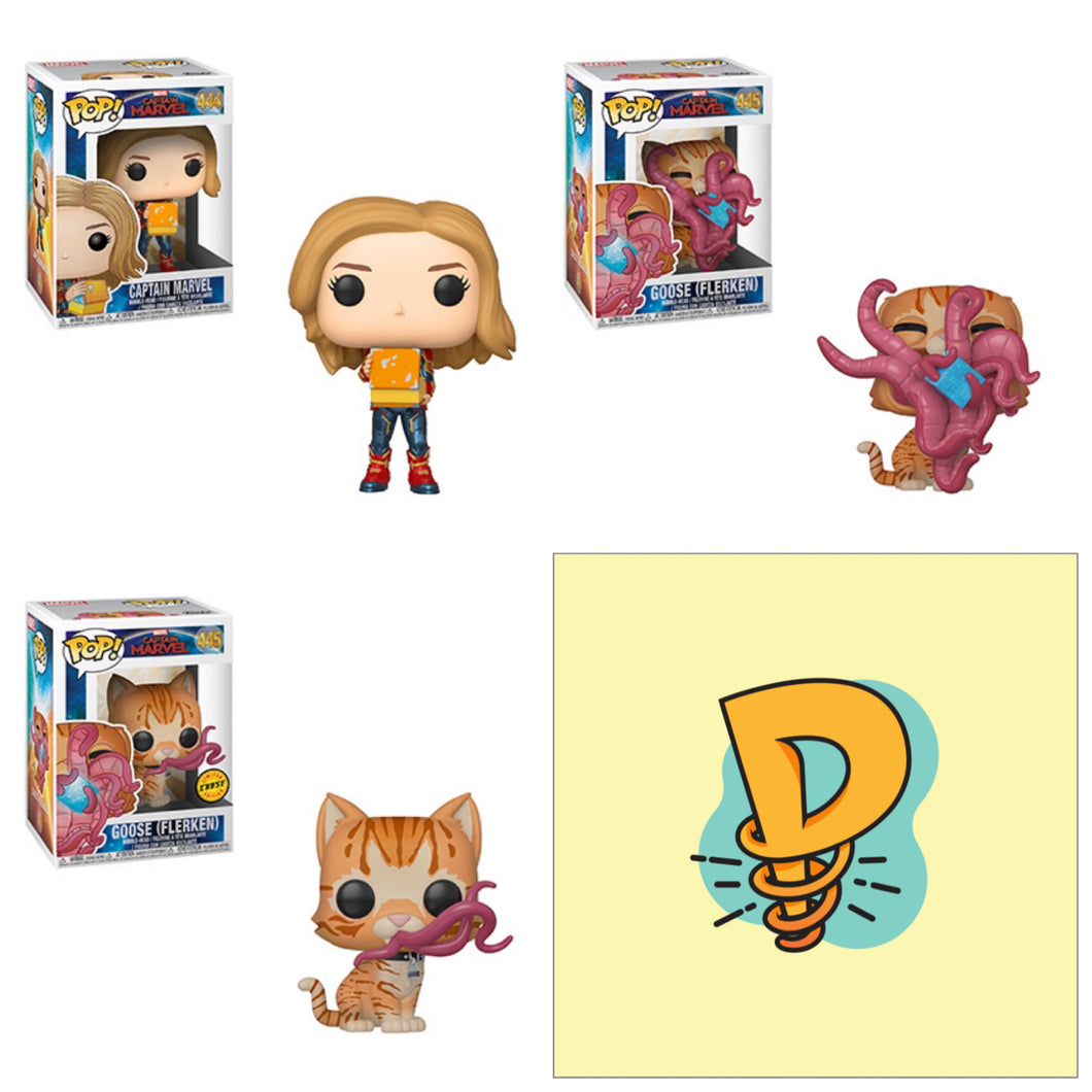 Pop! Marvel: Captain Marvel Wave 2 Bundle