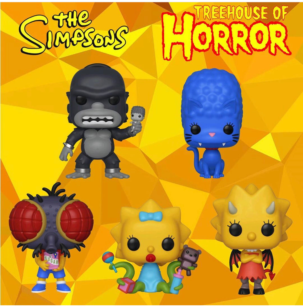 Pop! Animation: The Simpsons Treehouse - SINGLES