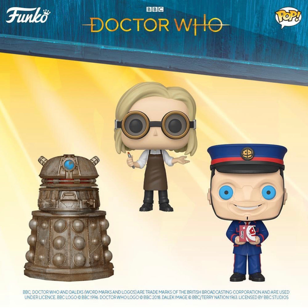 Pop! Television: Dr. Who - Bundle