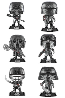 Pop! Star Wars: ROS - Hematite Chrome Bundle