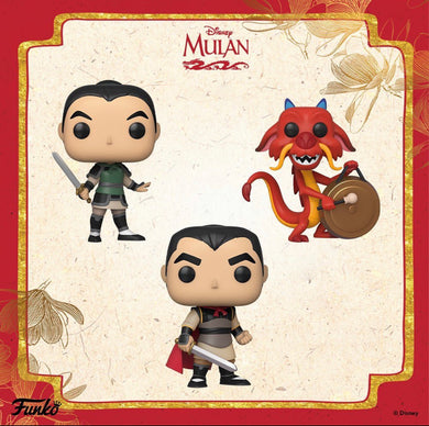 Pop! Disney: Mulan - Pop!s