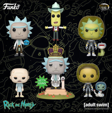 Pop! Rick and Morty S4 W2: Bundle
