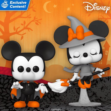 Pop! Disney: Mickey Mouse Halloween