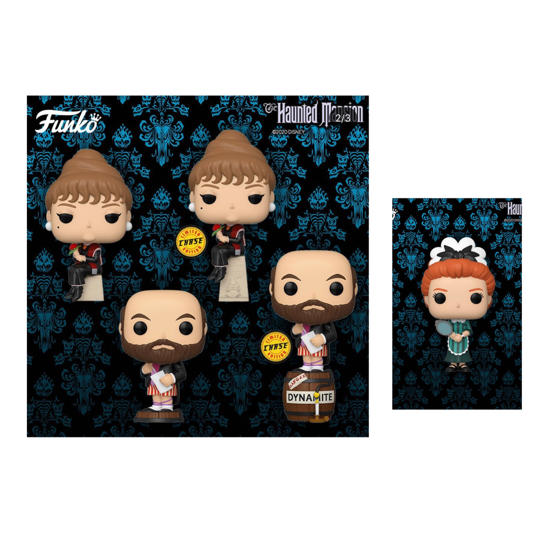 Pop! Disney: Haunted Mansion Bundle