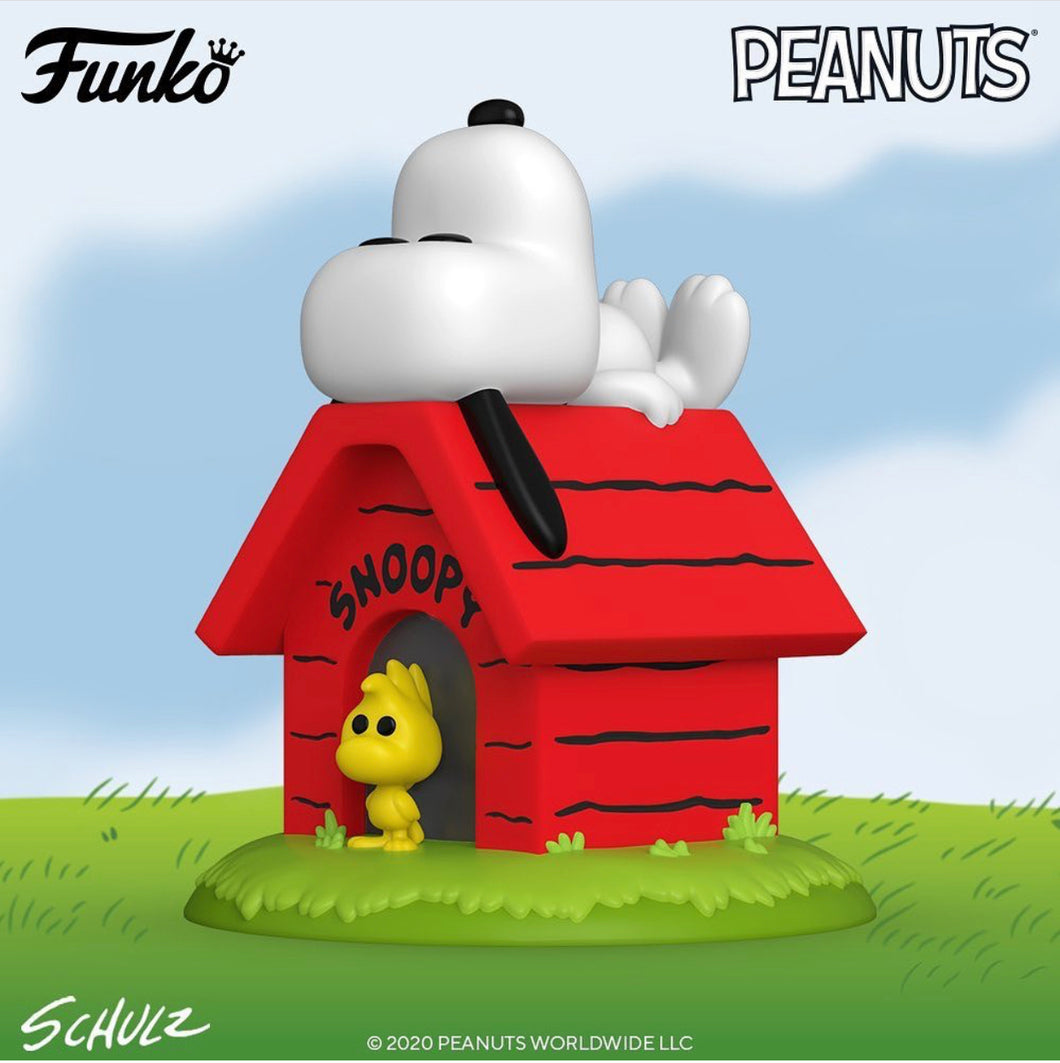 Pop! Deluxe: Snoopy on Doghouse (Wave 2)
