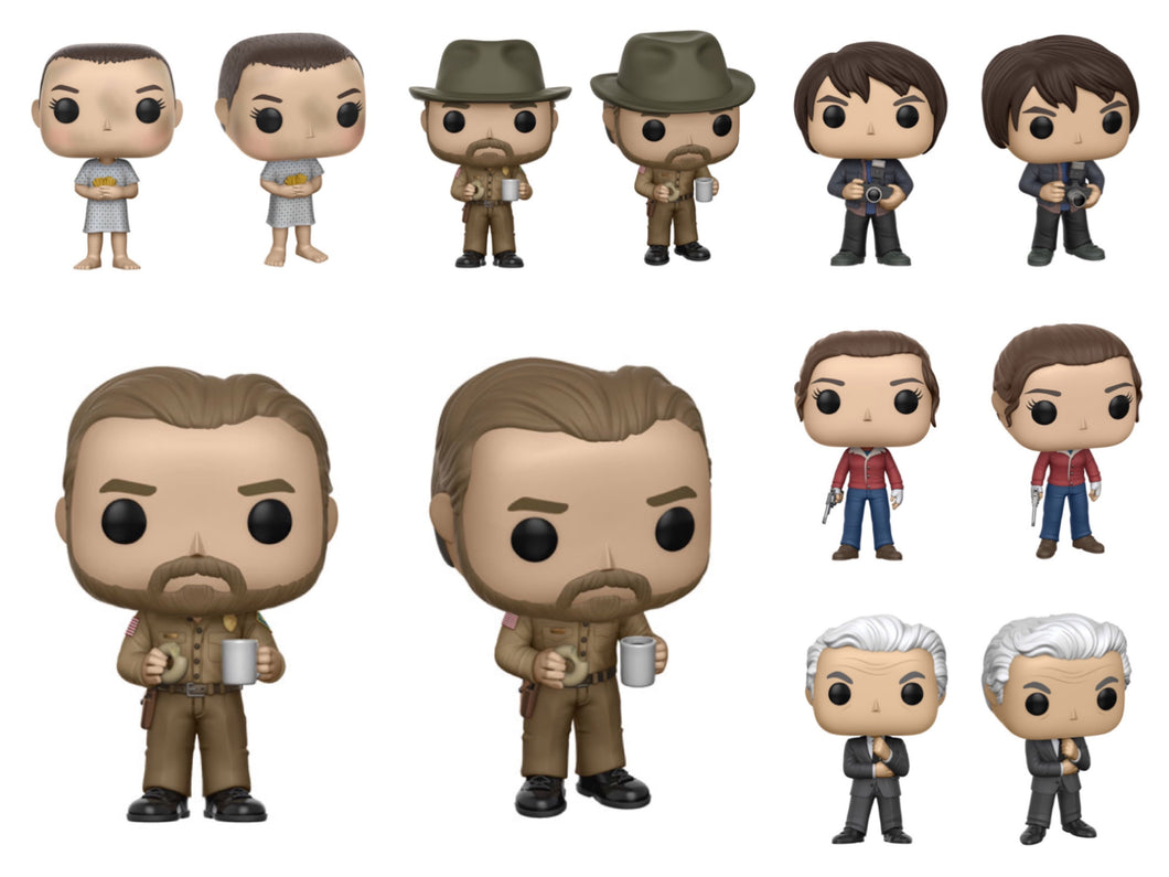 Pop! Television: Stranger Things - BUNDLE! w/CHASE!