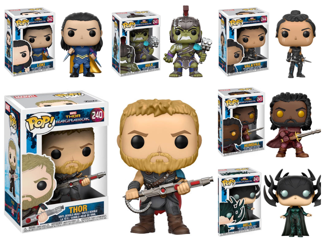 Pop! Marvel: Thor Ragnarok - BUNDLE!