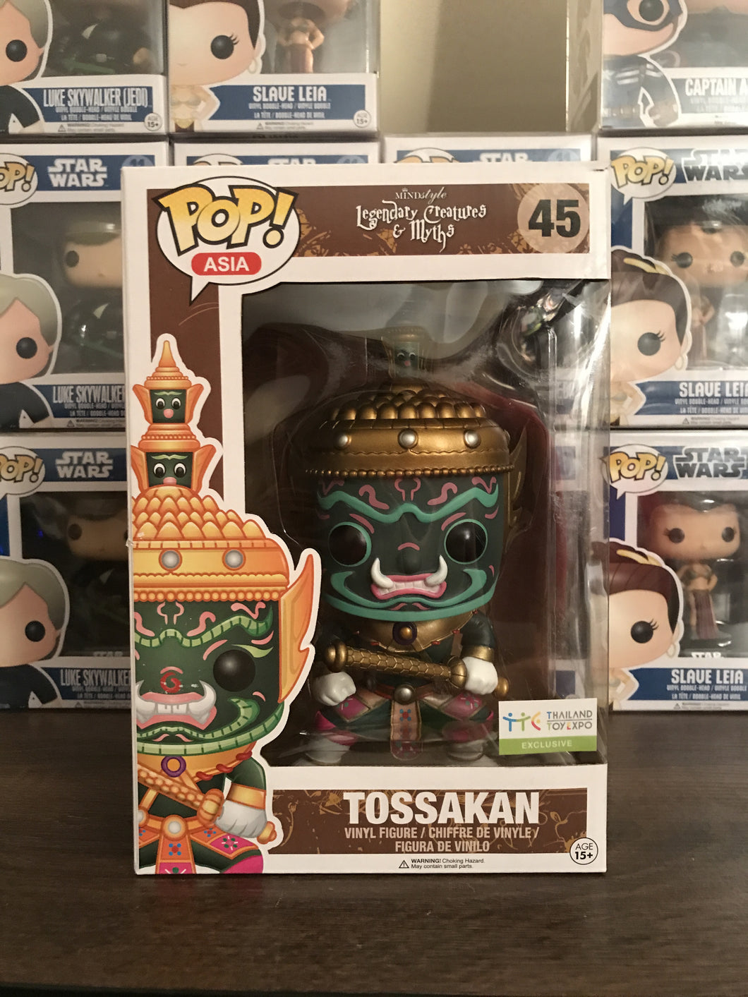 Pop! Asia: Legendary Creatures - TOSSAKAN