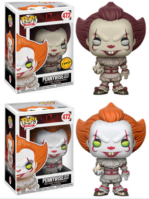 Pop! Movies: IT! - PENNYWISE w/CHASE