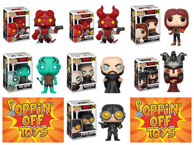 Pop! Comics: Hellboy - BUNDLE w/Chase!