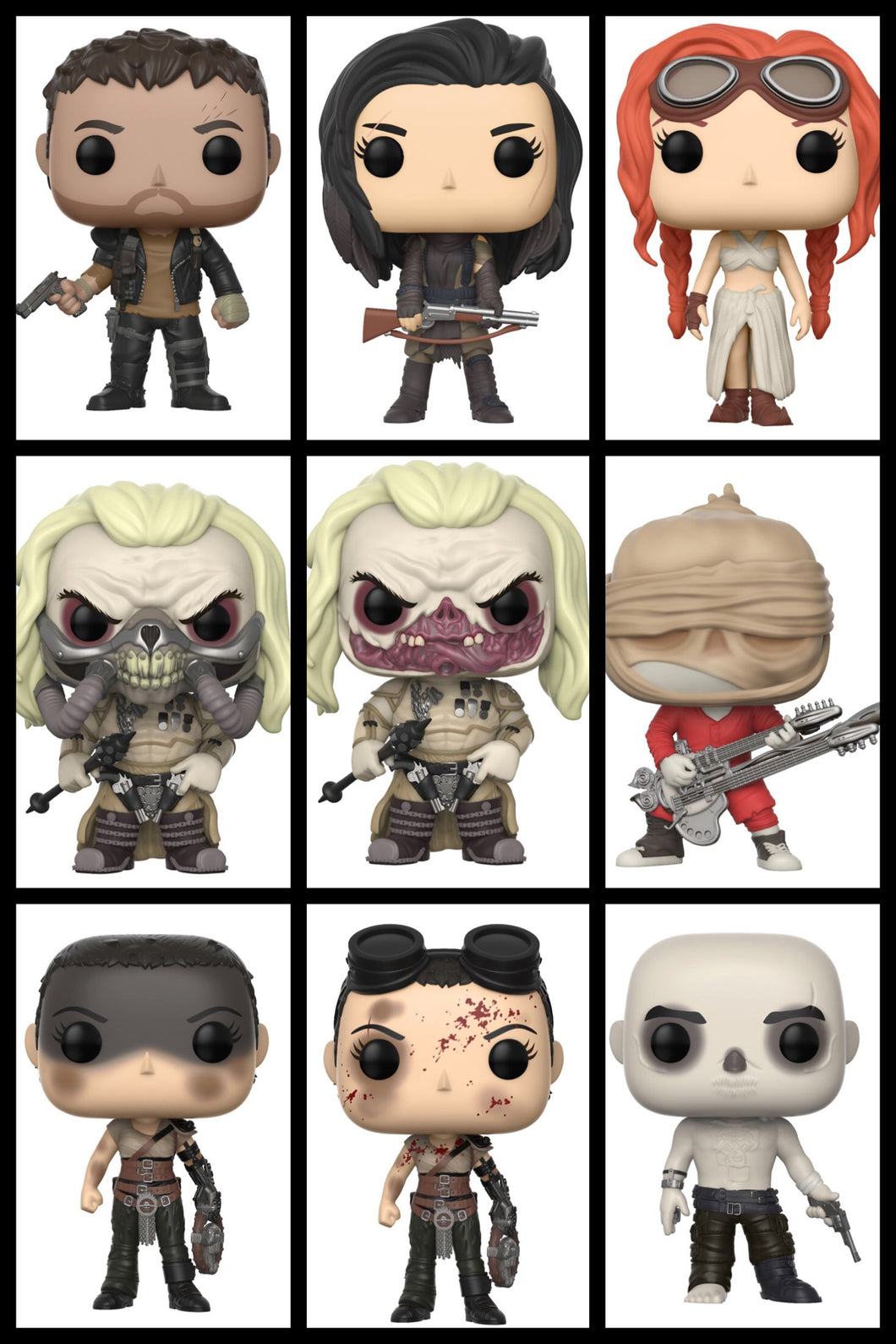 Pop! Movies: Mad Max - COMPLETE BUNDLE w/Chases!