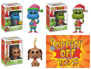 Pop! Dr. Seuss: The Grinch - BUNDLE w/CHASE!