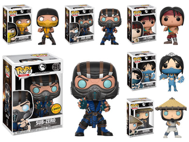 Pop! Games: Mortal Kombat - BUNDLE w/CHASE!
