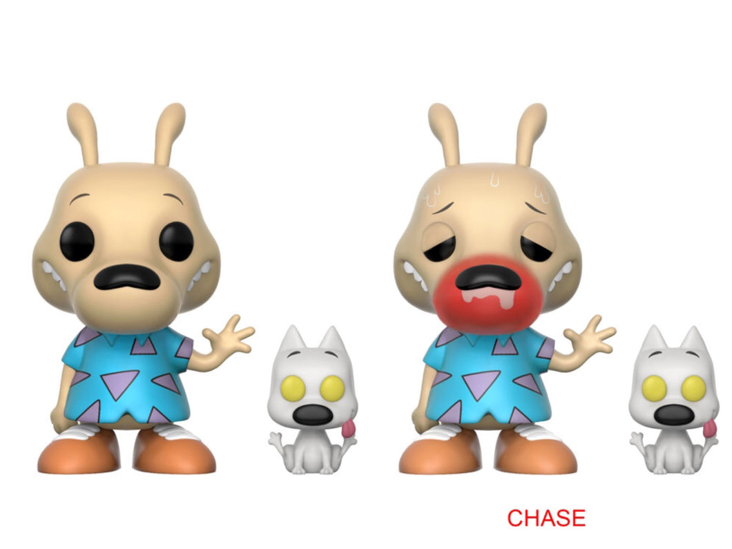 Pop! Television - Rocko's ML - ROCKO and SPUNKY (Set of 6 w/Chase)