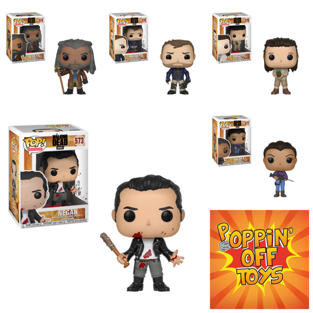 Pop! Television: The Walking Dead - BUNDLE