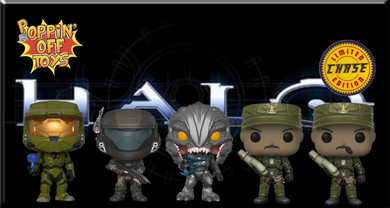 Pop! Games: HALO - Bundle w/Chase!