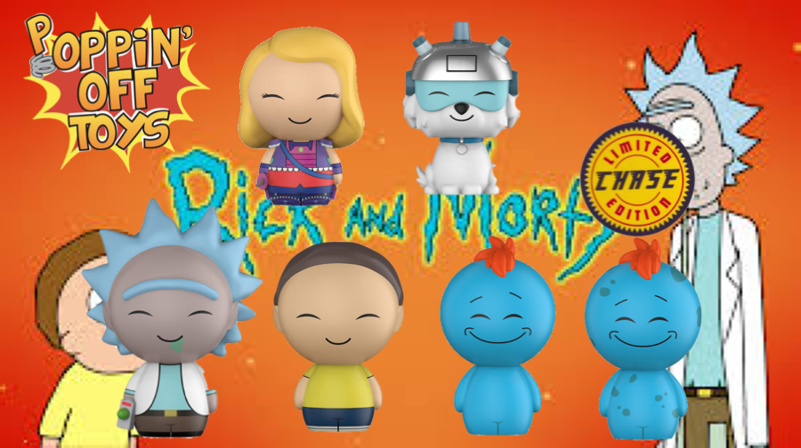 Dorbz: Animation: Rick and Morty - Bundle w/Chase