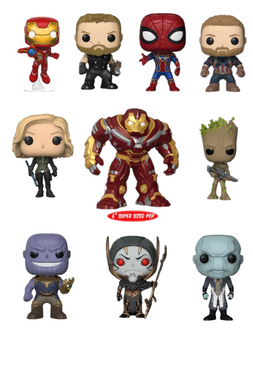 Pop! Marvel: Infinity War - BUNDLE!