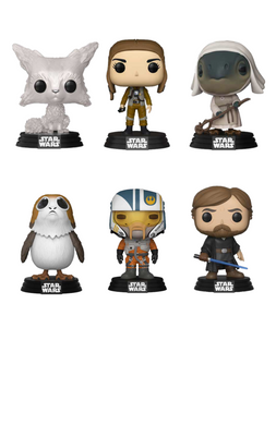 Pop! Star Wars: The Last Jedi Wave 2 - Bundle