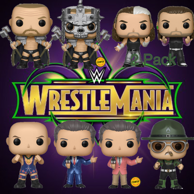 Pop! WWE: S8- Bundle w/Both Chases