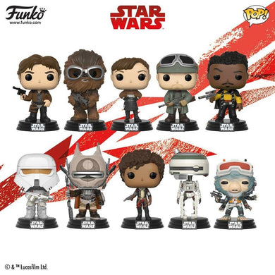 Pop! Star Wars: A Solo Story - BUNDLE