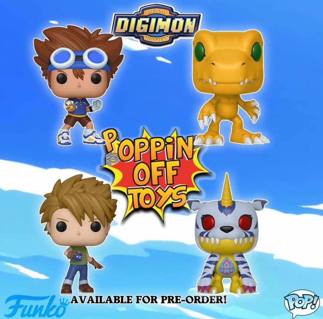 Pop! Animation: Digimon - Bundle