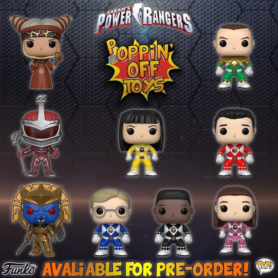 Pop! Television: Power Rangers - Bundle