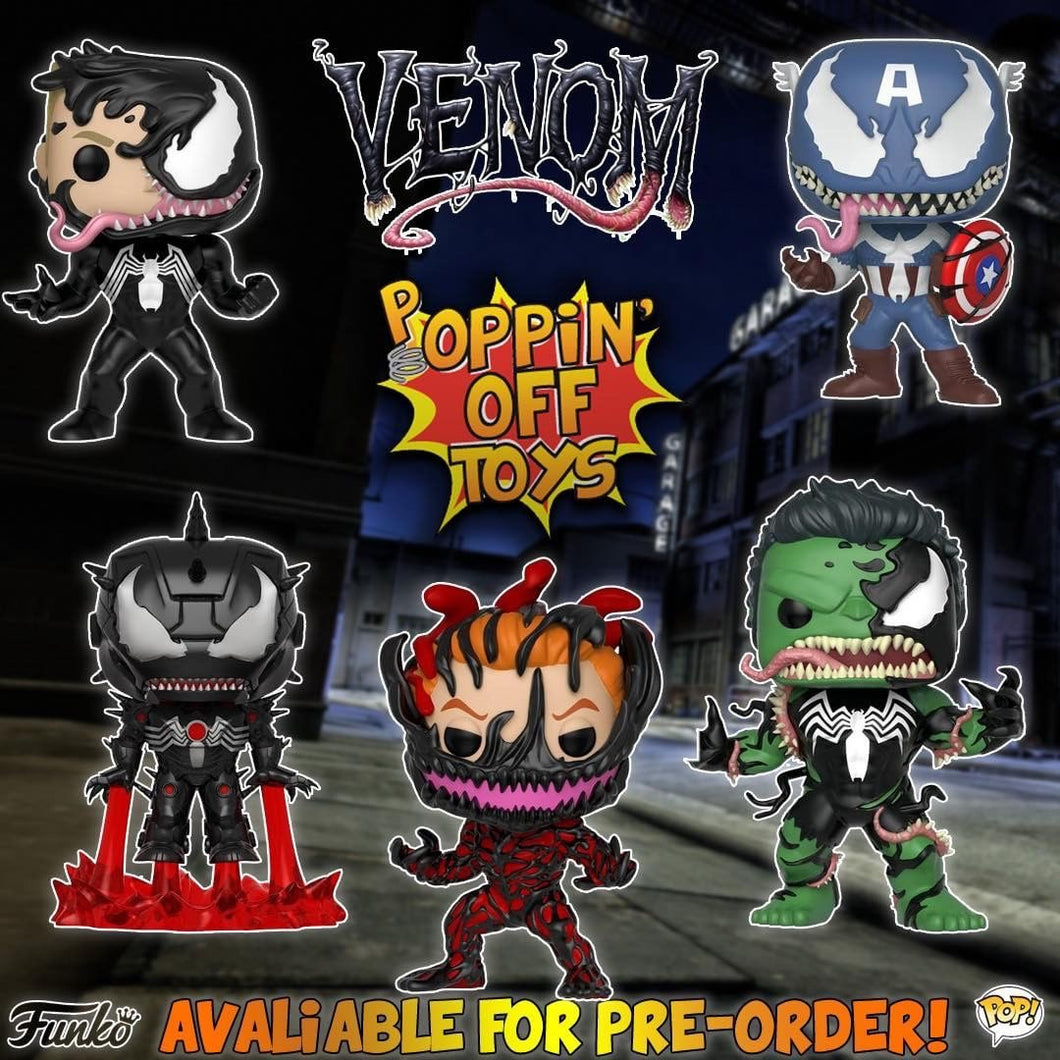 Pop! Marvel: Venom Series - Bundle